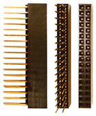 Qty. 3, 2 x 18 Pin Stackable Headers (920-0103-01)