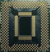 """QFP 100 Pins, .65mm pitch, 2"""" x 2"""" Grid, non-""""EZ"""" (201-0010-01)"""