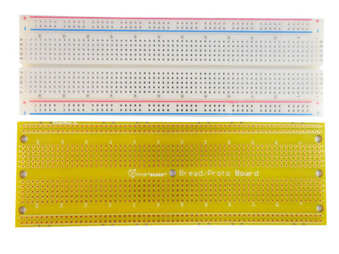 830 TIE POINT SCHMARTBOARD BREAD/PROTO BOARD BUNDLED WITH A 830 POINT BREADBOARD(201-0016-31)