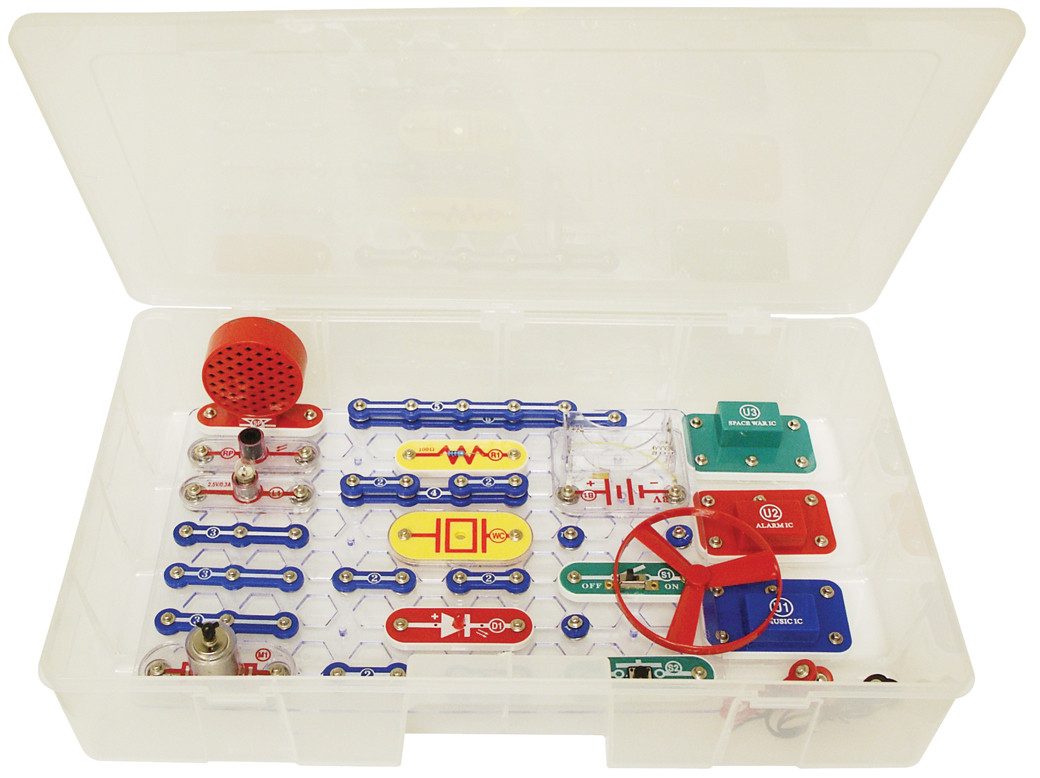 Snap Circuits Jr Educational 100 Experiments With Teacher Guide Elenco Sound Image 1