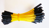 "Qty 100 3"" Female Yellow Jumper Wires (920-0165-01)"