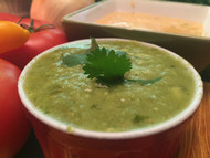 Premium Green Salsa with Avocado From Texas Lone Star Chili Company