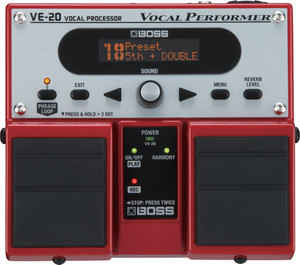 BOSS VE-20 Vocal Processor Pedal - Ships from USA