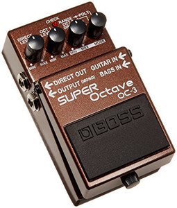 BOSS OC-3 SUPER Octave Pedal - Ships from USA