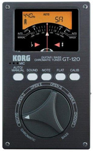 KORG GT-120 Guitar/Bass Chromatic Tuner