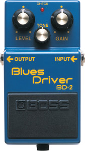 BOSS BD-2 Blues Driver Guitar Effects Pedal - Ships from USA