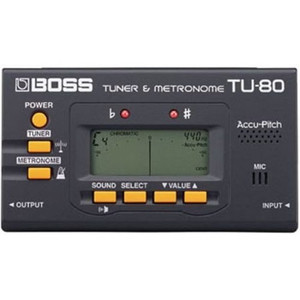 BOSS TU-80 Chromatic Tuner and Metronome - Ships from USA