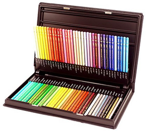 Mitsubishi Pencil Uni Colored Pencils 72 Colors Set