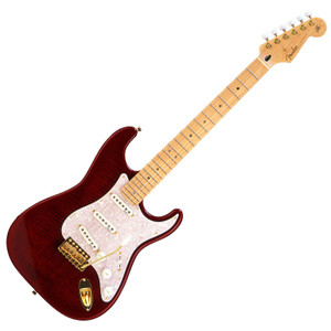 FENDER Japan Exclusive Ritchie Kotzen Strat Artist Mode Transparent Red Burst