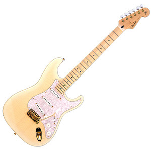 FENDER Japan Exclusive Ritchie Kotzen Strat Artist Model See-through White Burst