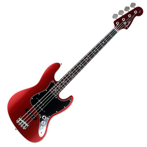 FENDER Japan Exclusive Aerodyne JAZZ BASS Medium Scale PJ Candy Apple Red