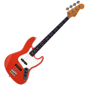 FENDER Japan Exclusive Classic 60S JAZZ BASS Fiesta Red