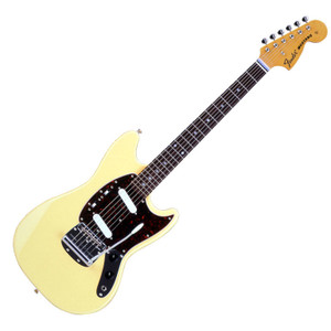 FENDER Japan Exclusive Classic 70S Mustang Yellow White