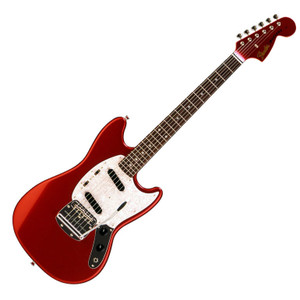 FENDER Japan Exclusive Classic 70S Mustang Matching Headcap Candy Apple Red