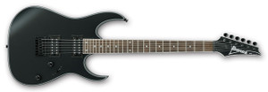 """Ibanez Electric Guitar RG421EX BKF (Black Flat)"""
