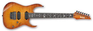Ibanez Electric Guitar RG8527FX j.custom BBE (Bright Brown Rutile)