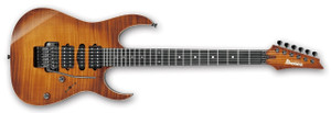 Ibanez Electric Guitar RG7570Z j.custom BBE (Bright Brown Rutile)