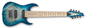 Ibanez Electric Guitar RG852MPB Prestige GFB (Ghost Fleet Blue Burst)
