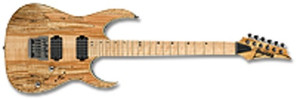 Ibanez Electric Guitar RG721MSM Premium NTF (Natural Flat)