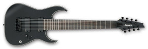 Ibanez Electric Guitar RGIR38BFE Iron Label BKF (Black Flat)