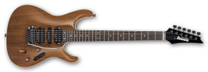 Ibanez Electric Guitar SV5570KD Prestage KB (Koa Brown) display