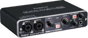 Roland QuadCapture USB 2.0 Audio Interface - Ships from USA
