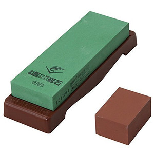 Naniwa Chosera SS-1000 Whetstone with Base - Ships from USA