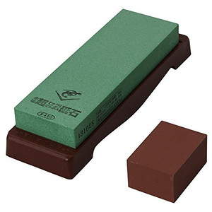 Naniwa Chosera SS-400 Whetstone with Base - Ships from USA