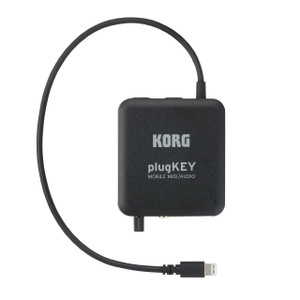 KORG plugKEY MOBILE MIDI AUDIO BLACK - Ships from USA