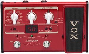 VOX StompLab 2B Modeling Bass Guitar Effect Processor - Ships from USA
