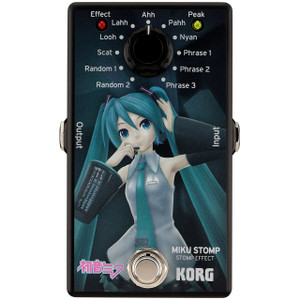 KORG Miku Stomp Vocaloid Guitar Effects Pedal - Ships from USA