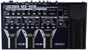 Boss ME-50B Bass Multi Effects - Ships from USA