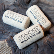 Printed (Black) Corks - an ideal promotional item