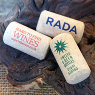 Printed (Full colour) Corks - an ideal promotional item