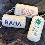 Printed (Full colour) Cork Keyrings - an ideal promotional item