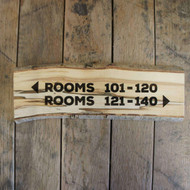 Rustic Wooden Signs - artwork engraved into a silver birch wood slice (with bark on)