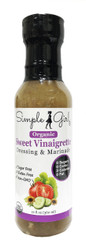Simple Girl Organic Sweet Vinaigrette Salad Dressing