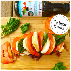 Low-Sugar dressing idea for our Balsamic Vinaigrette