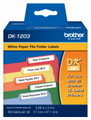 Brother DK-1203 file folder labels