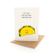 Punny Grateful Taco