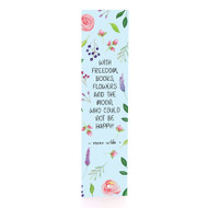 Books & Flowers - Bookmark