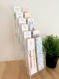 Bookmark Stand - supplied with minimum orders