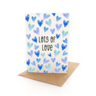 Lots Of Love Hearts Blue