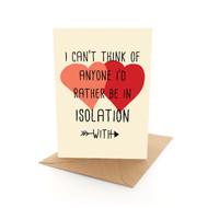 Isolation Love