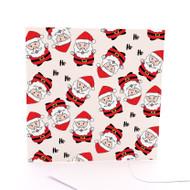 Tossed Santas