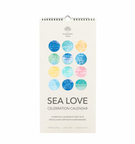 Sea Love Celebration Calendar