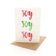 Xmas Letters Joy x 3
