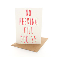 Xmas Letters No Peeking