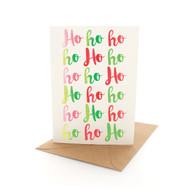 Xmas Letters Ho Ho Ho