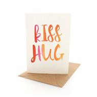 Kiss Hug Letters